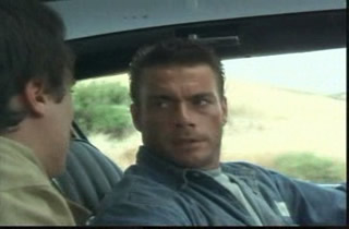 In case you arent a Van Damme fan, yes, this movie is called Nowhere to Run